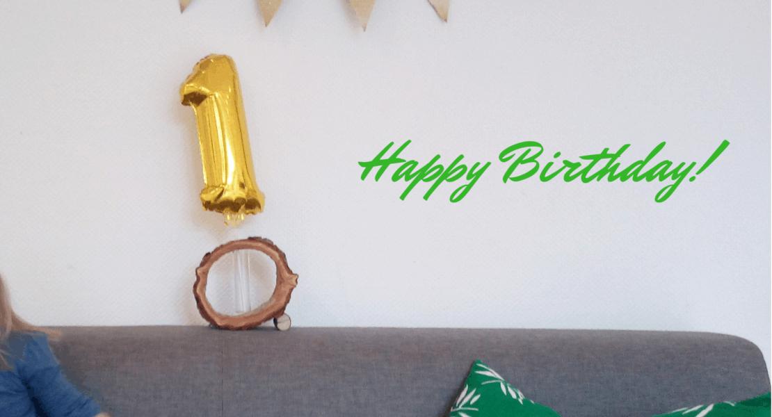 Der Blog wird ein Jahr alt