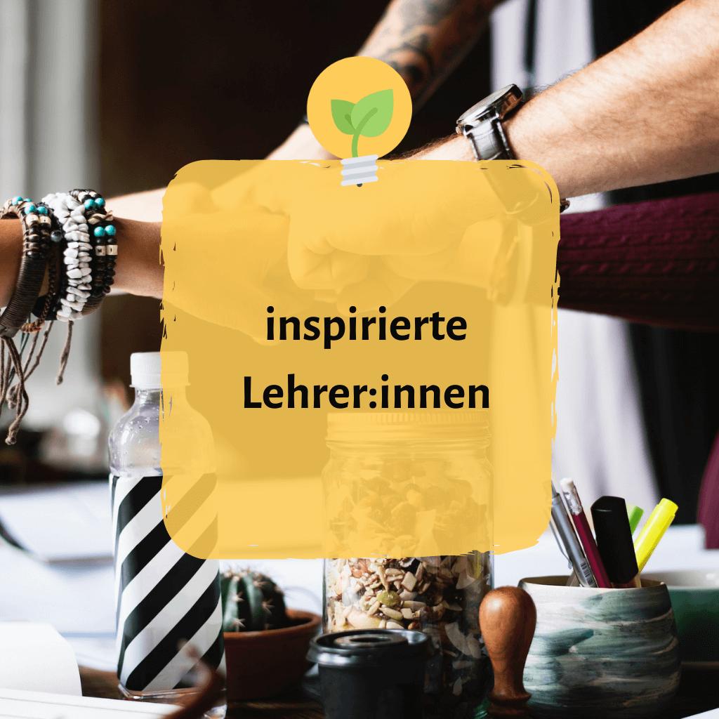 Blogkategorie inspirierte Lehrer:innen