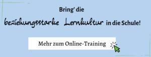Mach mit beim Online-Training für Lehrer:innen