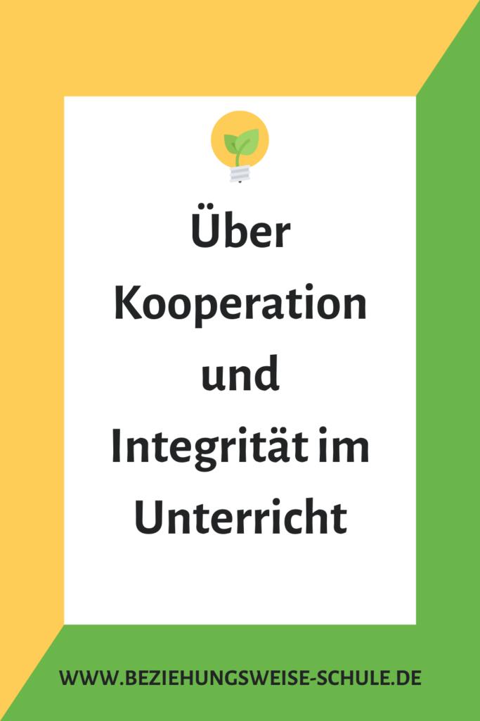 Kooperation und Integrität